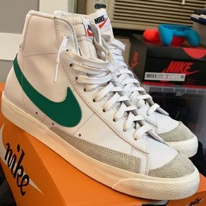 Hard to find, Lucid Green Nike Mid Blazers!